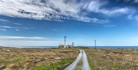 Mace Head Atmospheric Research Station, Carna, Co Galway. Photograph: Prof Colin O